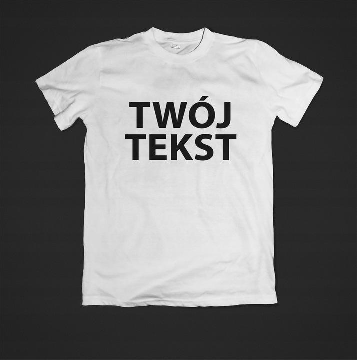 cab188c92296 Koszulki z własnym nadrukiem tanio super cena zamów już dziś
